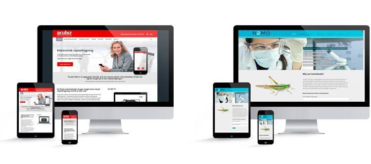 mobilvenlige hjemmesider
