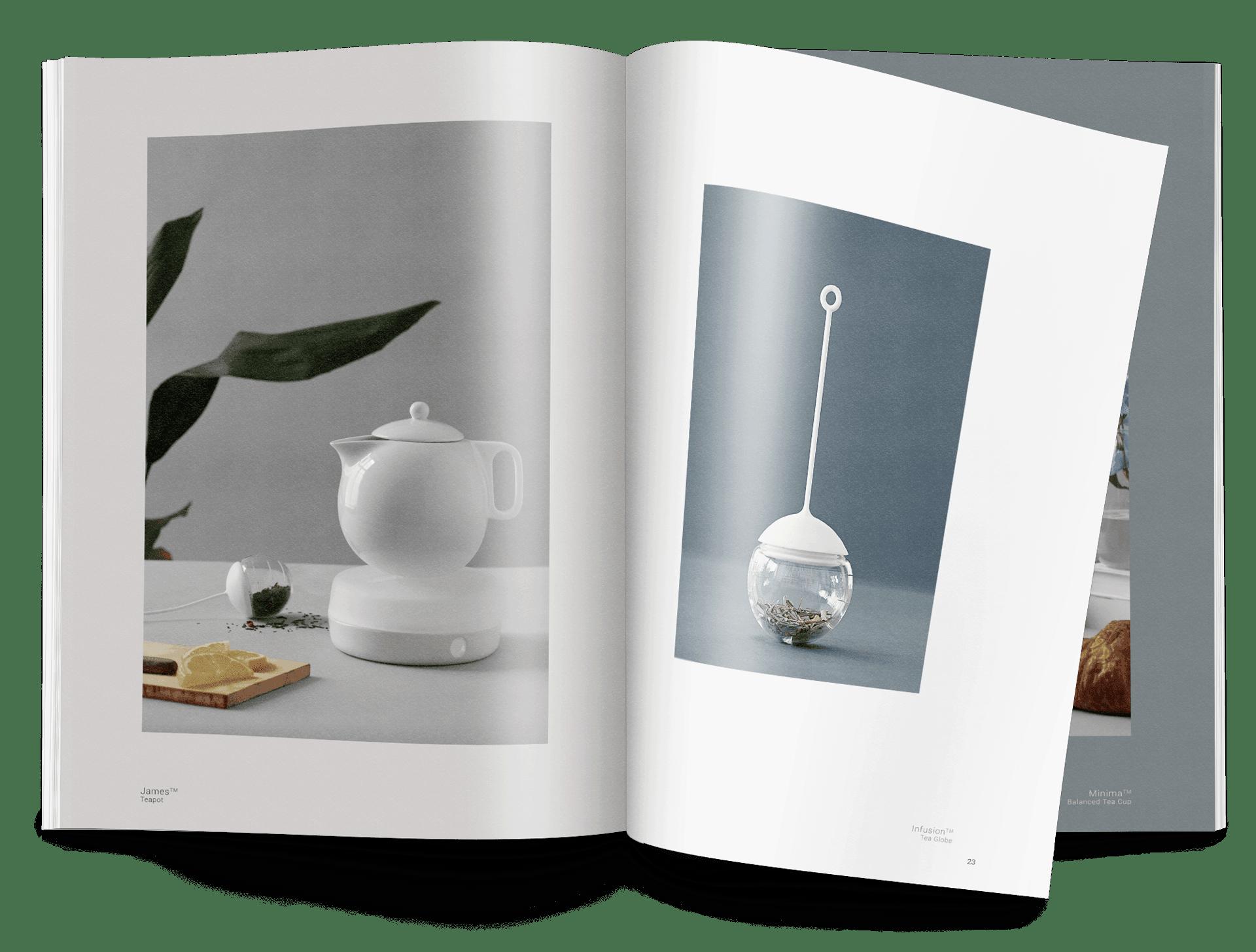 tryksager design af katalog