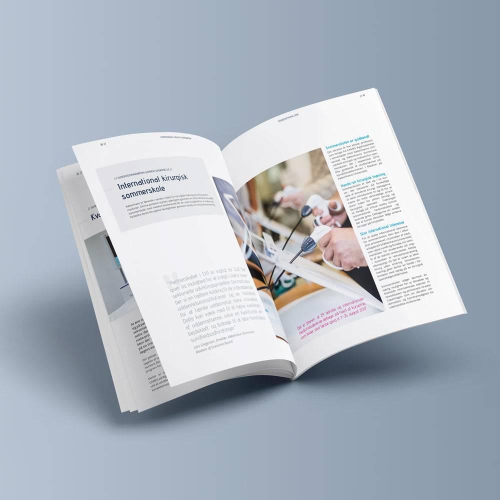 design af årsberetning