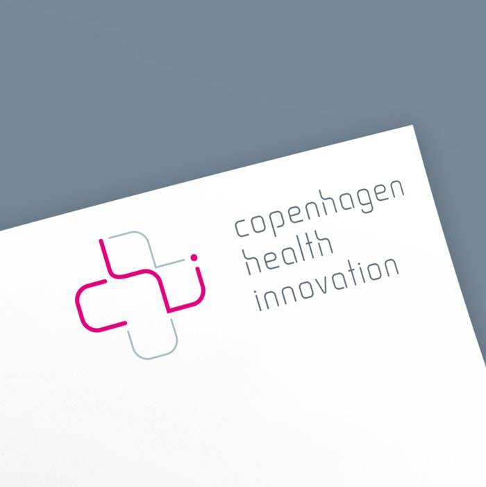 copenhagen health innovation visuel identitet