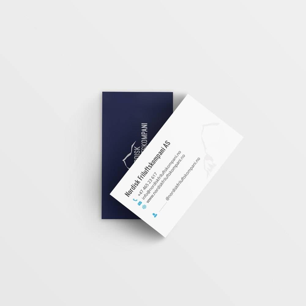 design af visitkort