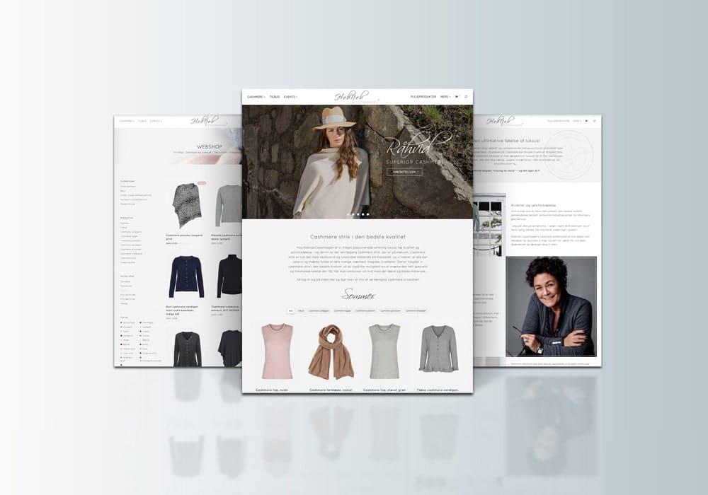 webshop til cashmere tøj